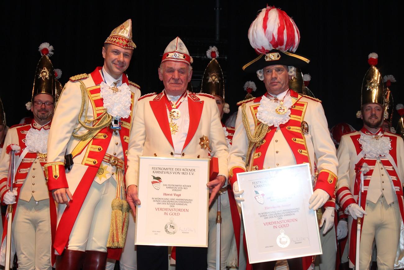 Generalkorpsappell 2015 - Prinzen-Garde Köln