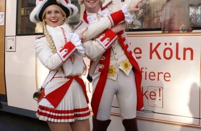 Tanzpaar Prinzen-Garde Köln
